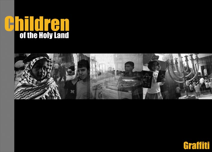 Libro Fotografico Casa Editrice Graffiti Children of the Holy Land COPERTINA