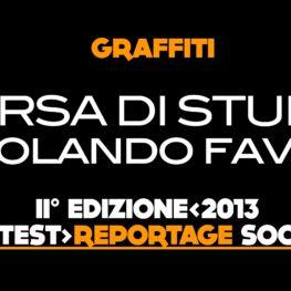 Borsa di Studio Graffiti Rolando Fava