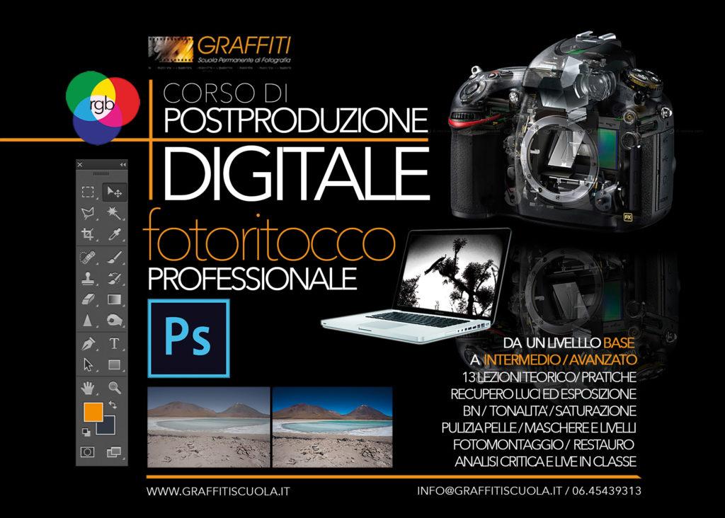 Corso Postproduzione Digitale Graffiti