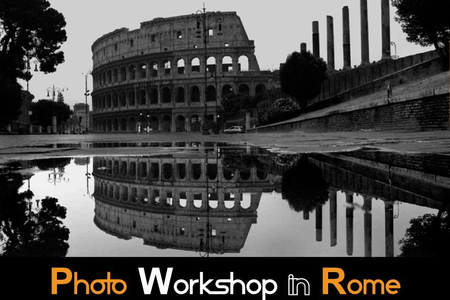 Photo Workshop  in Rome Graffiti