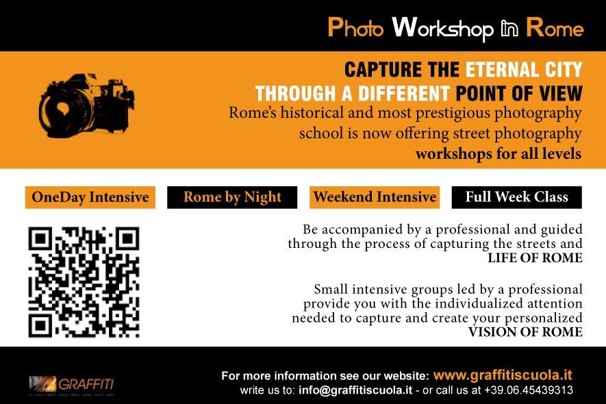 Photoworkshop in Rome Graffiti