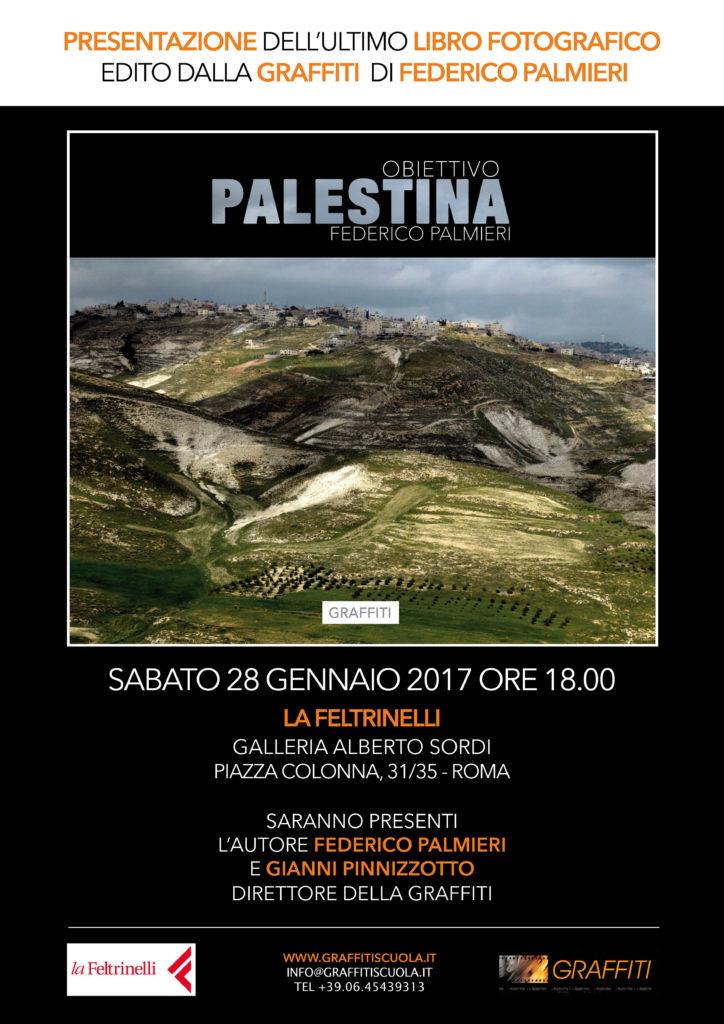 """Presentazione Libro Fotografico GRAFFITI: """"Obiettivo Palestina"""" di Federico Palmieri"""